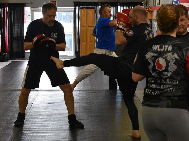 muay thai training in Leesville